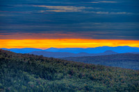 Sunset, Height of Land Overlook, Franklin County, Maine