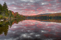 May Pond at Sunrise, Orleans County, Vermont