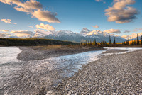 Saskatchewan River Morning, Kootenay Plains, David Thompson Country, Alberta