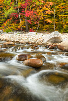 Evans Brook, Evans Notch, White Mountain National Forest, Maine