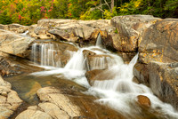 Lower Falls Recreation Site, Kancamagus Highway, White Mountain National Forest, New Hampshire
