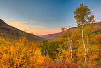 Pinkham Notch Overlook at Sunrise, White Mountain National Forest, New Hampshire
