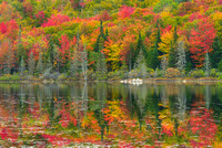 Wheeler Pond Reflections, Willoughby State Forest, Vermont