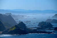 Pacific Coast from Cape Ferrelo, Samuel H. Boardman State Park, Oregon