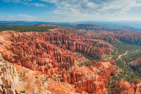 The Amphitheater from Inspiration Point, Bryce Canyon National Park, Utah