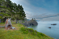 Pacific Coast from Thunder Rock Cove Viewpoint, Samuel H. Boardman State Park, Oregon