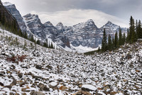 Ten Peaks from the Consolation Lakes Trail, Banff National Park, Alberta