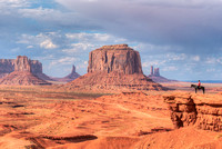 Monument Valley from John Ford's Point, Monument Valley Navajo Tribal Park, Arizona