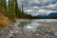 Athabasca River, Icefields Parkway, Jasper National Park, Alberta