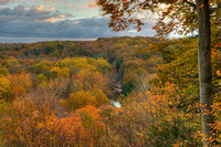 Tinkers Creek Gorge Overlook #1, Bedford Reservation, Cleveland Metroparks, Cuyahoga Valley National Park, Ohio