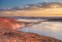 Lake Powell Sunrise, Glen Canyon National Recreation Area, Arizona