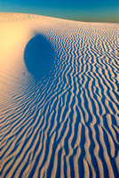 """The Cavity,"" White Sands National Monument, New Mexico"