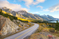 David Thompson Highway, David Thompson Country, Alberta