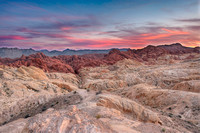 Fire Canyon Sunset, Valley of Fire State Park, Nevada