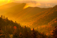 Newfound Gap at Sunrise, Great Smoky Mountains National Park, North Carolina