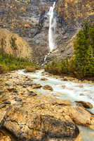 Takkakaw Falls from the Outlet Stream, Yoho National Park, British Columbia