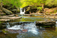 Murray Reynolds Falls, Ricketts Glen State Park, Pennsylvania