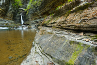 Central Cascade and The Cathedral, Watkins Glen State Park, New York