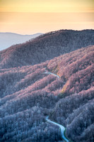 Newfound Gap Sunrise, Great Smoky Mountains National Park, Tennessee/North Carolina