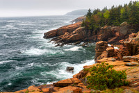 Ocean Path Coastal Overlook, Acadia National Park, Maine