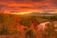 White Mountains Sunset, Carroll County, New Hampshire