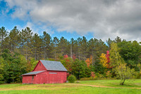 North Road Barn, Coos County, New Hampshire