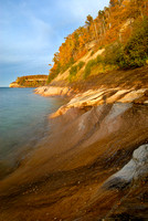 Lake Superior Shoreline, Pictured Rocks National Lakeshore, Michigan