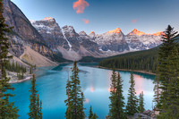 Moraine Lake at Sunrise, Banff National Park, Alberta