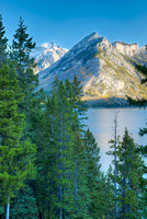 Mt. Astley & Lake Minnewanka, Banff National Park, Alberta