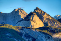 Roche de Smet at Sunrise, Jasper National Park, Alberta