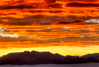 """Fire in the Sky,"" White Sands National Monument, New Mexico"